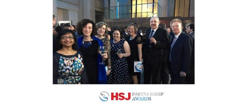 Entec Health and collaboration partners finalists for HSJ Partnership Awards 2018